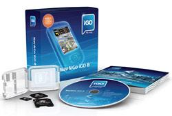 Nav n Go iGO8 teljes Európa 2GB microSD - miniSD - SD kártya