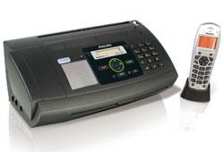Philips PPF650Dect vezeték nélküli telefonnal ellátott fax készülék